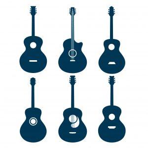 Akustiska gitarrer ¼ storlek (under 5 år)