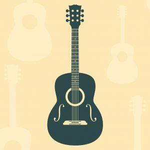 Akustiska gitarrer 4/4 storlek (över 12 år)